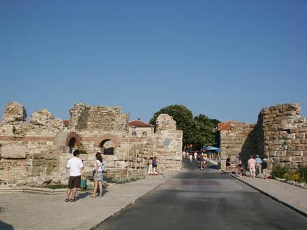 ruines romaines nessebar