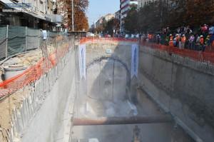 tunelier metro sofia bulgarie ligne 2