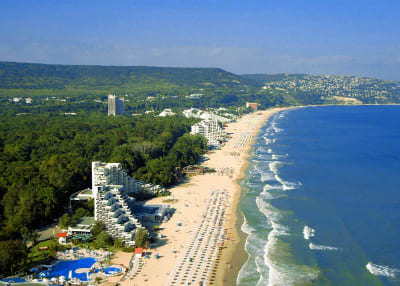 plage albena bulgarie