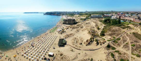 plage sunny beach bulgarie