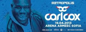 Carl Cox Arena Armeec Sofia 2013