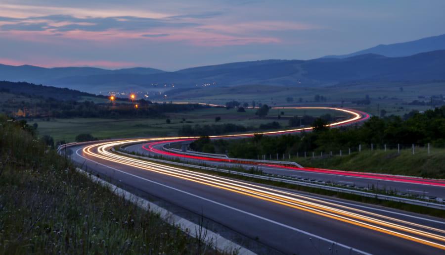 Autoroute en bulgarie