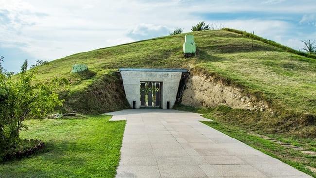 Tombe Thrace de Sveshtari bulgarie
